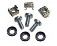 INTELLINET 713658 Nut, Screw, Washing Machine - Cage Nut, Screw, Washing Machine - Silver - 100Piece